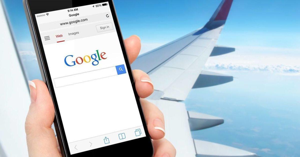 Google планирует приобрести технологии Nokia для быстрого интернета в самолётах