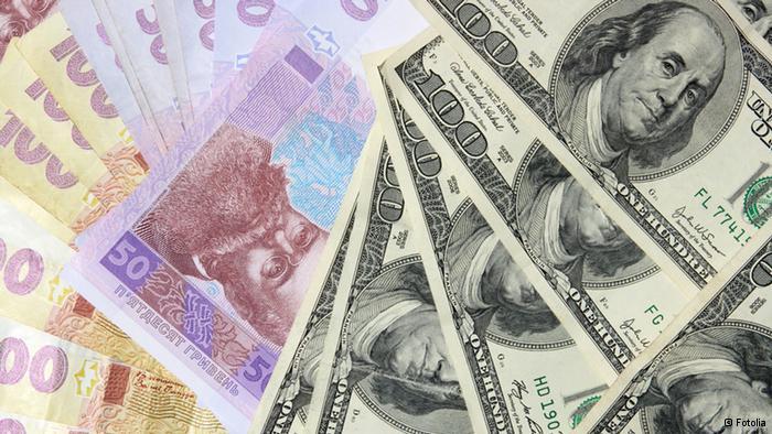 Гривна продолжила курс на укрепление по сравнению с долларом
