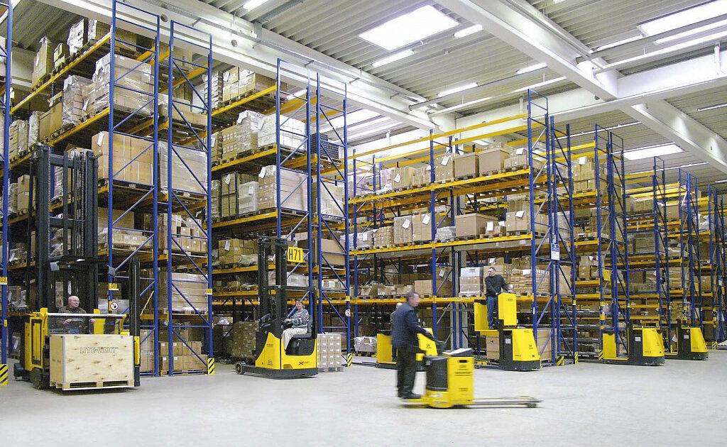 Покупка оборудования для склада
